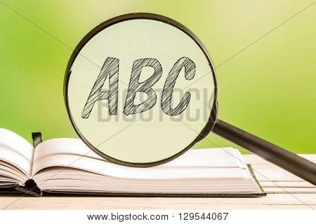 Learning The Alphabet Abc