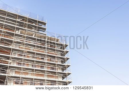 Building Under Construction With Building Armor.