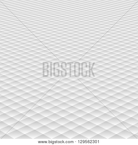 white background with perspective and decorative pattern