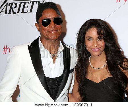 LOS ANGELES - MAY 12:  Jermaine Jackson, Halima Rashid, Guest at the Power Up Gala at the Beverly Wilshire Hotel on May 12, 2016 in Beverly Hills, CA