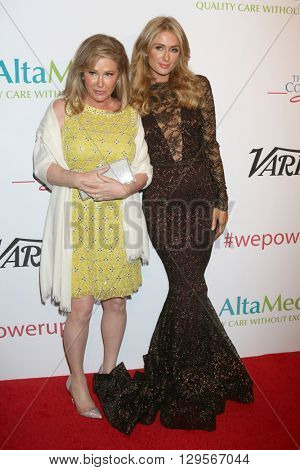 LOS ANGELES - MAY 12:  Kathy Hilton, Paris Hilton at the Power Up Gala at the Beverly Wilshire Hotel on May 12, 2016 in Beverly Hills, CA