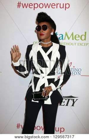 LOS ANGELES - MAY 12:  Janelle Monae at the Power Up Gala at the Beverly Wilshire Hotel on May 12, 2016 in Beverly Hills, CA