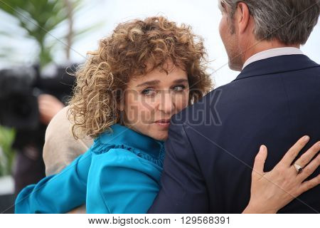 Valeria Golino attend the jury photocall during the 69th annual Cannes Film Festival at Palais des Festivals on May 11, 2016 in Cannes, France.