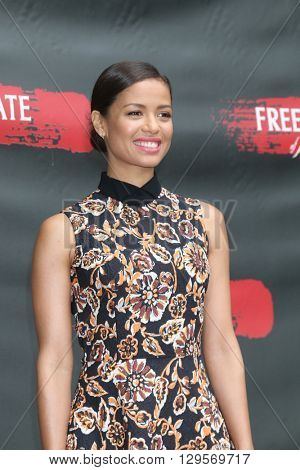 LOS ANGELES - MAY 11:  Gugu Mbatha-Raw at the Free State Of Jones Photocall at the Four Seasons Hotel Los Angeles at Beverly Hills on May 11, 2016 in Los Angeles, CA