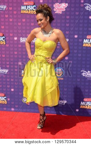 LOS ANGELES - APR 29:  Tammy Townsend at the 2016 Radio Disney Music Awards at the Microsoft Theater on April 29, 2016 in Los Angeles, CA