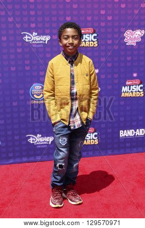 LOS ANGELES - APR 29:  Miles Brown at the 2016 Radio Disney Music Awards at the Microsoft Theater on April 29, 2016 in Los Angeles, CA