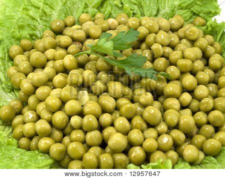 Heap Of Green Peas