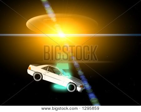 Car And Ufo 66
