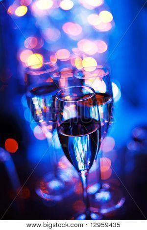 Party in den Nightclub