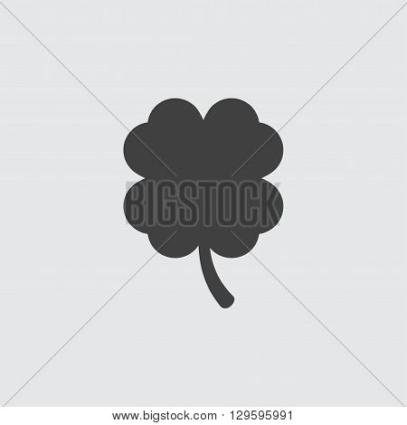 Clover icon illustration isolated vector sign symbol