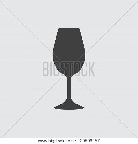 Wineglass icon illustration isolated vector sign symbol