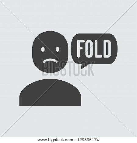 Fold icon illustration isolated vector sign symbol