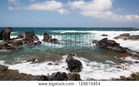 Maui Ocean Rocks