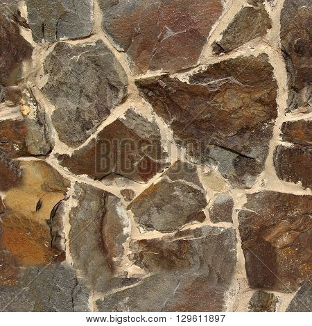 Seamless old stone wall texture. Seamless pattern for design purposes