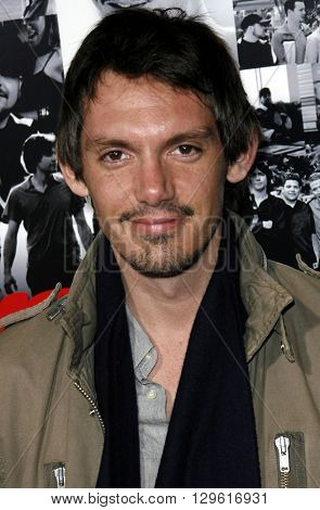 Lukas Haas at the season 3 premiere of HBO's 'Entourage' held at the Cinerama Dome in Hollywood, USA on April 5, 2007.