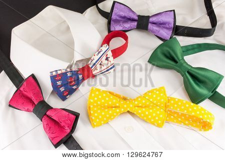 Shirt And Bow Ties