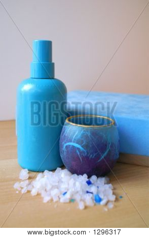 Blue Bathroom Products