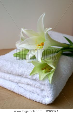Scented Bathroom Towel