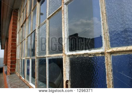 Old Rusting Window