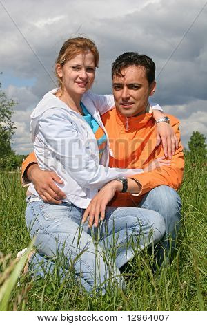 couple in grass 2