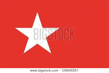 Flag of Maastricht is a town and a municipality in the southeast of the Netherlands. It is the capital city of the province of Limburg.