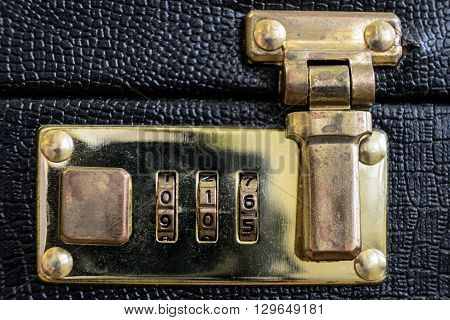 the small suitcase coded lock for documents