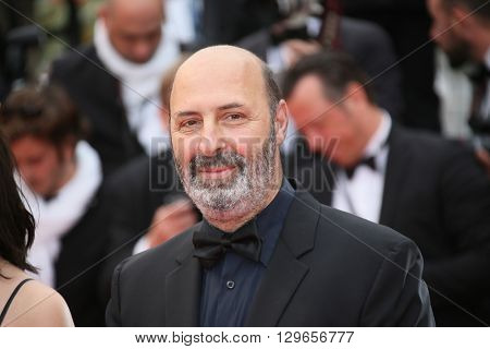 Cedric Klapisch attends the 'Slack Bay (Ma Loute)' premiere during the 69th annual Cannes Film Festival at the Palais des Festivals on May 13, 2016 in Cannes, France.