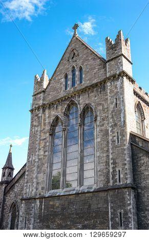 Ireland Dublin the St Patrik's cathedral detail