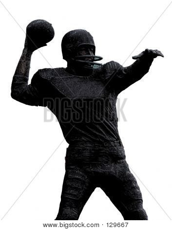 FootballPlayer Statue