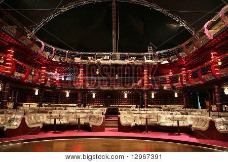 luxury audience hall