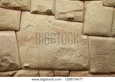 Inca Stone of 12 Angles in Cuzco Peru
