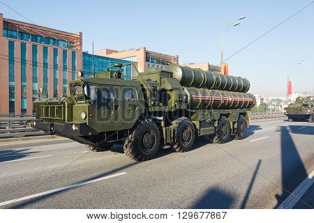 Russian Long Range Surface-to-air Missile Systems S-300