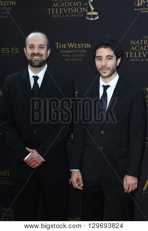 LOS ANGELES - APR 29: Benji Aflalo, Eric Weiner at The 43rd Daytime Creative Arts Emmy Awards at the Westin Bonaventure Hotel on April 29, 2016 in Los Angeles, CA