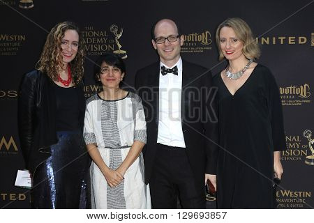 LOS ANGELES - APR 29: Sharon Shattuck, guests at The 43rd Daytime Creative Arts Emmy Awards at the Westin Bonaventure Hotel on April 29, 2016 in Los Angeles, CA