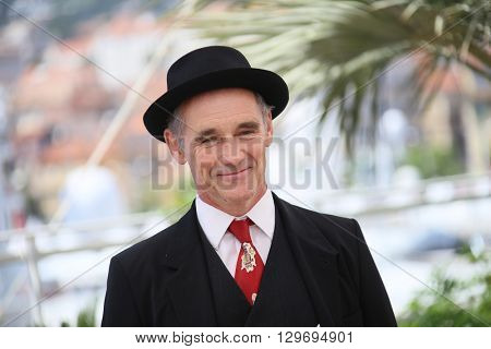 Mark Rylance attends 'The BFG (Le Bon Gros Geant - Le BGG)' photocall during the 69th annual Cannes Film Festival at the Palais des Festivals on May 14, 2016 in Cannes, France.