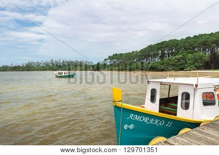 Conceicao Lagoon In Florianopolis, Brazil