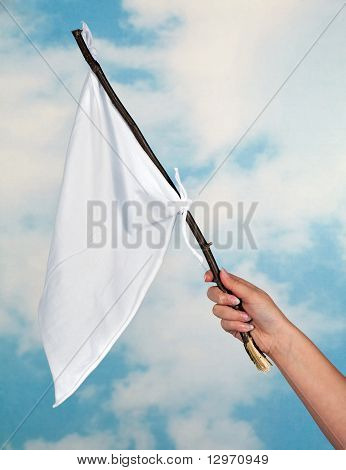 Waving A White Flag