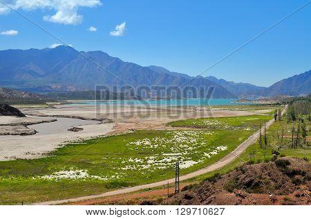 Potrerillos Dam. Province Of Mendoza. Argentina