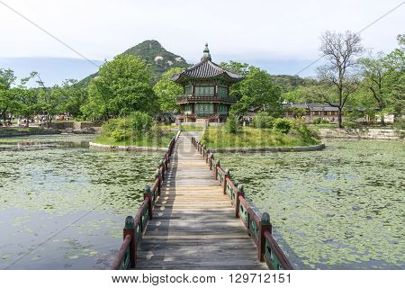 Hyangwonjeong During Summer