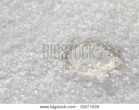 Iced Maria Theresia Thaler