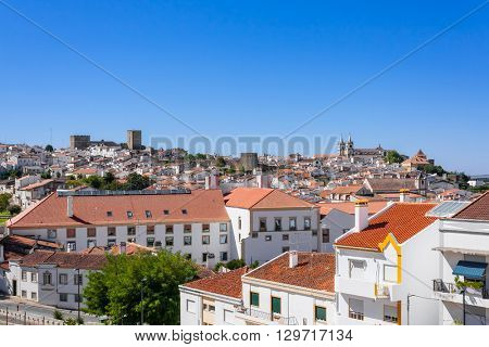 View of Portalegre city, in Portugal