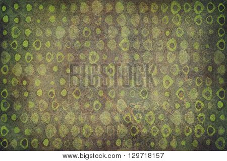 Green Triangles Texture