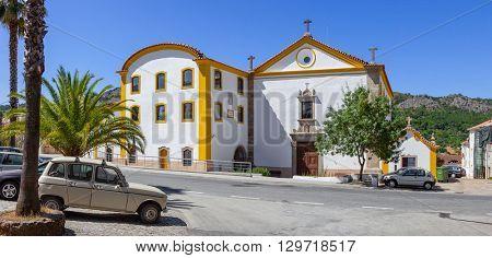 Sao Francisco Convent in Castelo de Vide, Portalegre, Alto Alentejo, Portugal.