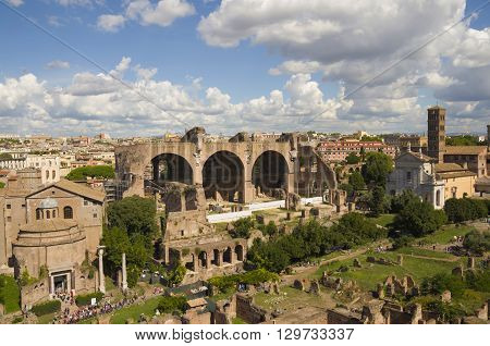 the best views of Rome and attractions for tourists coliseum pantheon forum