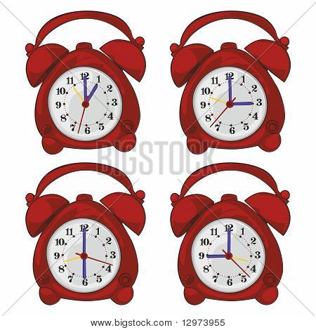 isolated clocks