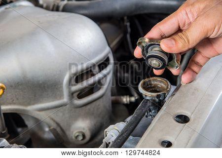 Check Car radiator Car maintenance Check car yourself Check water in Car radiator self.