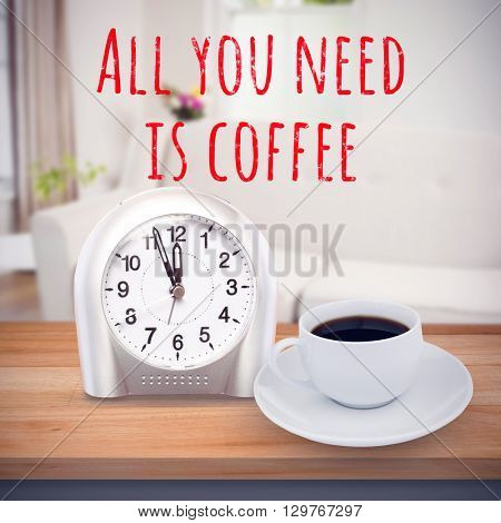 all you need is coffee against sitting room