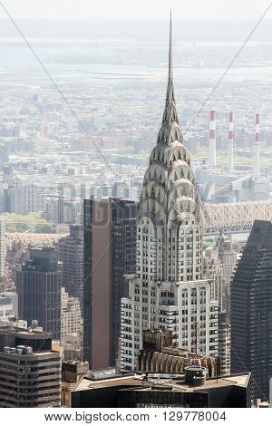 Chrysler Building In New York, Usa