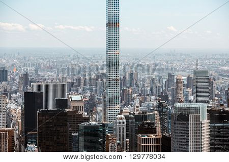 Worlds Tallest Residential Skyscraper In Manhattan