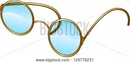 Glasses. Vector illustration on white background. eps 10